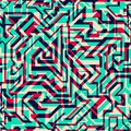 Bright lines seamless pattern Royalty Free Stock Photo