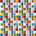 Bright mosaic tiles background Royalty Free Stock Photo