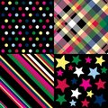Bright patterns Stock Photos