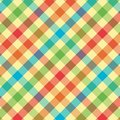 Bright Plaid Pattern Stock Images