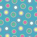 Bright Polka Dots Royalty Free Stock Photo