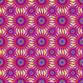 Bright purple abstract stars on a light background seamless pattern vector illustration Royalty Free Stock Photo