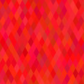 Bright red geometric background vector illustration Stock Images