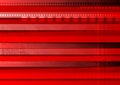 Bright red tech vector background Royalty Free Stock Photo