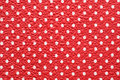 Bright red&white texture Royalty Free Stock Photo