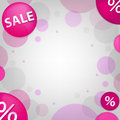 Bright Sale Poster. Vector Royalty Free Stock Images