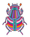 Bright scarab Royalty Free Stock Photography