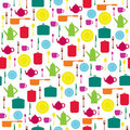 Bright seamless wallpaper Stock Photo