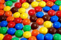 Bright smarties closeup Royalty Free Stock Photo