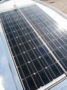 Bright solar panel Royalty Free Stock Photo