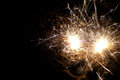Bright Sparklers Royalty Free Stock Photo