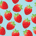 Bright strawberry wallpaper Stock Photography