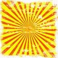 Bright Sunburst Grunge Royalty Free Stock Photo