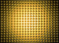 Bright texture from circles with a gold shade Royalty Free Stock Image