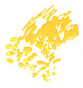 Bright yellow blot Royalty Free Stock Images