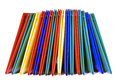 Brightly Colored Folders Stacked Royalty Free Stock Photo