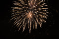 Brightly colorful fireworks and salute of various colors in the
