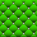 Brightly green edging of door Royalty Free Stock Photo