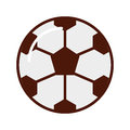 Brightly soccer ball cartoon