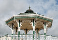 Brighton bandstand victorian on promenade east sussex Stock Photography