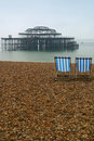 Brighton beach Fotografia Royalty Free