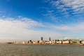 Brighton city england skyline seen from the pier Stock Image