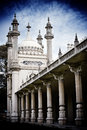 Brighton pavilion columns towers Royalty Free Stock Photo