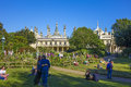 Brighton Royal-Pavilion and grounds Royalty Free Stock Photo