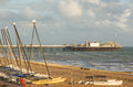 Brighton seafront and pier, Sussex, England