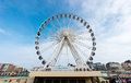 The brighton wheel uk circa april was erected in october and should remain in place until Stock Photography