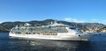 Brilliance of the seas villefranche france september cruise ship royal caribbean international moored in villefranche port on Stock Photos