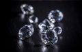 Brilliant diamond Royalty Free Stock Photo