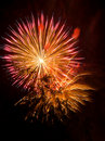 Brilliant Fireworks Stock Photo
