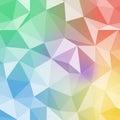 Brilliant pattern. Diamond triangle vector background. Royalty Free Stock Photo