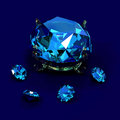 Brilliants diamonds Stock Images