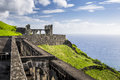Brimstone Hill Fortress in St. Kitts Royalty Free Stock Photo