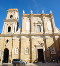 Brindisi cathedral city centre puglia Royalty Free Stock Image