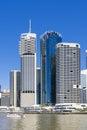 Brisbane CBD in daytime Royalty Free Stock Photo