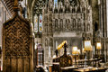 Bristol Cathedral Choir and Altar Royalty Free Stock Photo