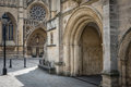 Bristol Cathedral entrance Royalty Free Stock Photo