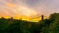 Bristol Clifton Suspension Bridge at Golden Hour E