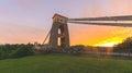 Bristol Clifton Suspension Bridge at Golden Hour J