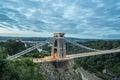 Bristol, Clifton Suspension Bridge Royalty Free Stock Photo