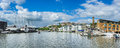 Bristol dockside view in england Royalty Free Stock Image