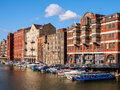 Bristol harbour regeneration the historic redcliffe wharf an area of the harbourside undergoing economic england uk Stock Photo