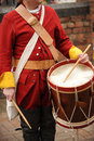 British Army Drummer Royalty Free Stock Photos