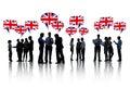 British Business People Talkin...