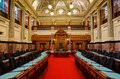 British columbia legislature the where elected representatives are seated during sessions Stock Images