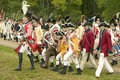 British fife and drum marches Royalty Free Stock Images
