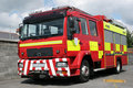 British Fire Engine Royalty Free Stock Photo